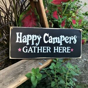 Wooden-Camper-Sign-Happy-Campers-Gather-Here-RV-Camp-decor