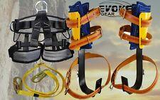 Evoke Gear Tree Climbing Spike Set Harness Tree And Pole Graff Synthetic Strap