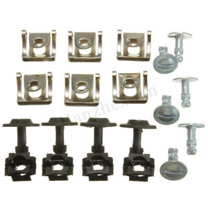 Undertray-Guard-Engine-Under-Cover-Fixing-Fitting-Clips-Screw-Kit-For-AUDI-A4