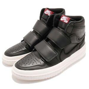441e7c6bf1cd22 Nike Air Jordan 1 RE Hi Double STRP Strap I AJ1 Black Men Shoe ...