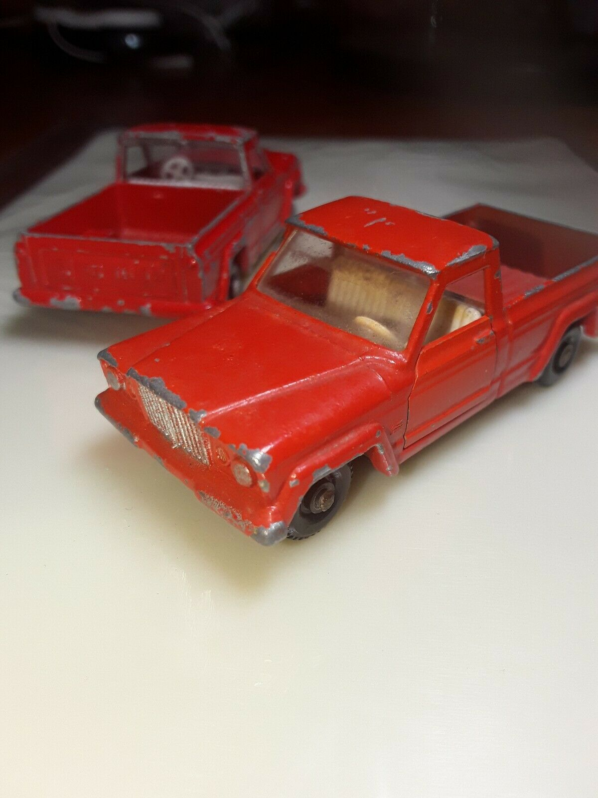 LESNEY MATCHBOX NO. 71 JEEP GLADIATOR UTE -  RARE  - L2  le magasin