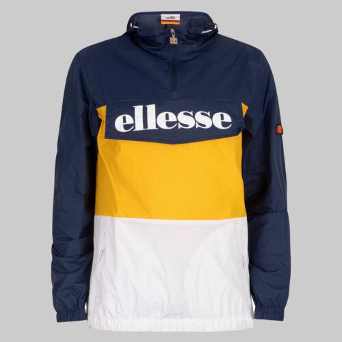 Ellesse Domani Jacket Yellow Navy