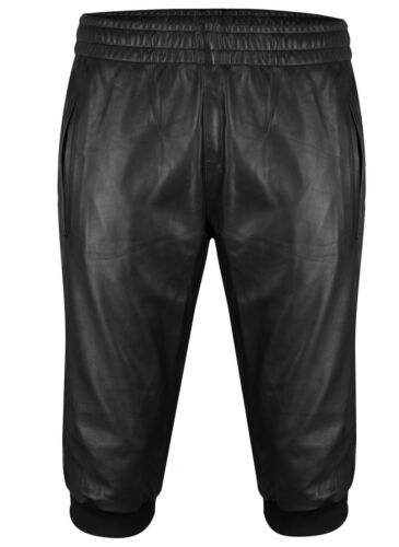 Pantaloni in neri pelle neri pelle in casual pelle Pantaloni Pantaloncini Pantaloncini Pantaloni in xnanw1Z