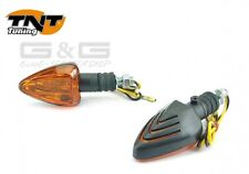 Indicatore Punta Nero con E-marchio di controllo 12V 21W Per Moto Quad ATV