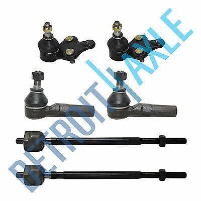Front Ball Joint Tie Rod End Steering Suspension Kit Set 6pc for Previa New