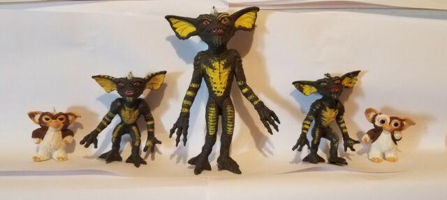5 Gremlins Rubber Figures Lot