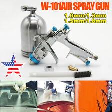 Hvlp Air Paint Spray Gun W 101 10131518mm Nozzle Gravity Spray Gun