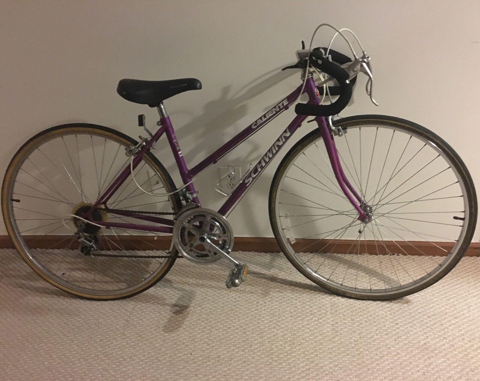 Schwinn Caliente purple 27x1.25 women's bike
