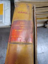 Case 580 Construction King Fork Lift Burl Form 9 72581