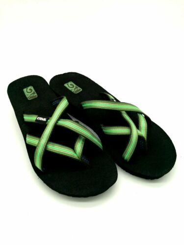 Paragraphe 5 cm Sandale Teva Bride D/'Orteil 38 Flip Flop Mush Mandalyn Wedge ola2 vert