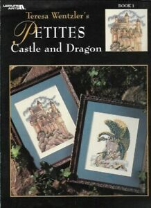 Teresa-Wentzler-039-s-Petites-CASTLE-amp-DRAGON-for-Counted-Cross-Stitch-Book-1-3135