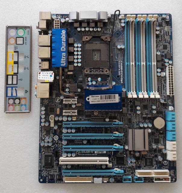 Gigabyte GA-EX58-UD3R Intel SATA RAID Drivers Update