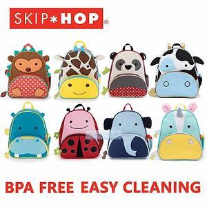 Image is loading Skip-Hop-Little-Kid-Zoo-Backpack-PreSchool-School- 097e25cc89