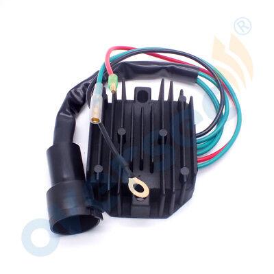 67F-81960-12 VOLTAGE REGULATOR RECTIFIER for Yamaha 80-100 HP 4 Stroke  5-wire