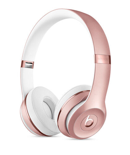 Beats By Dr Dre Beats Solo3 Over The Head Headphones Rose Gold For Sale Online Ebay