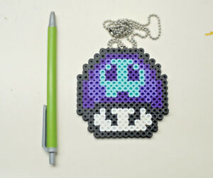 Poison Mushroom Super Mario Bros 8 Bit Pixel Art Pixel Art