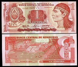 Honduras 1 Lempira 2004 P 84 D Lbtohbmu-07224801-723430813