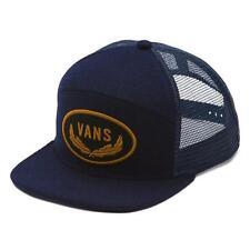 7689ff21 item 2 Vans Off The Wall Sign 6 Panel Navy Wool Blend Trucker Snapback Hat  Mens New NWT -Vans Off The Wall Sign 6 Panel Navy Wool Blend Trucker Snapback  Hat ...