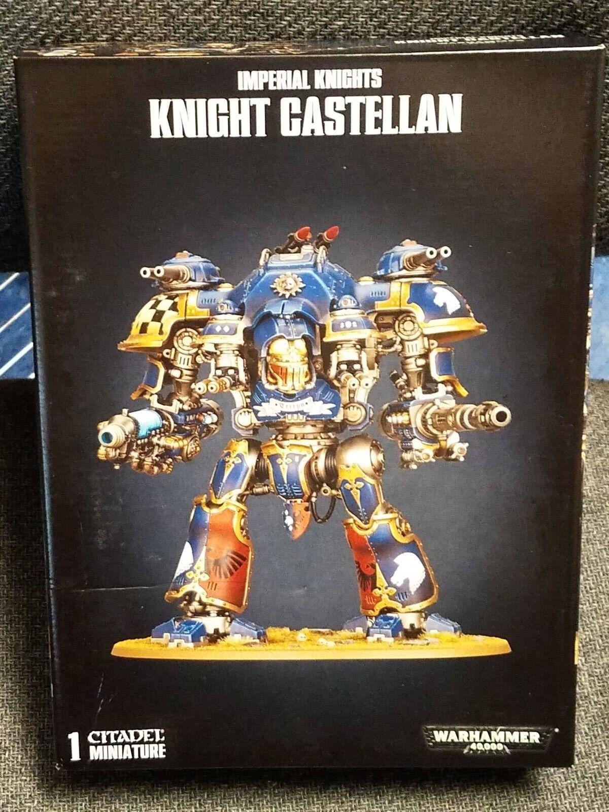 Imperial Knight Castellan Knights Warhammer  40k 40,000 giocos lavoronegozio modello nuovo   qualità autentica