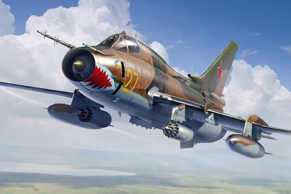 Hobby Boss 1 48 Sukoi Su-17m4 Fitter-K