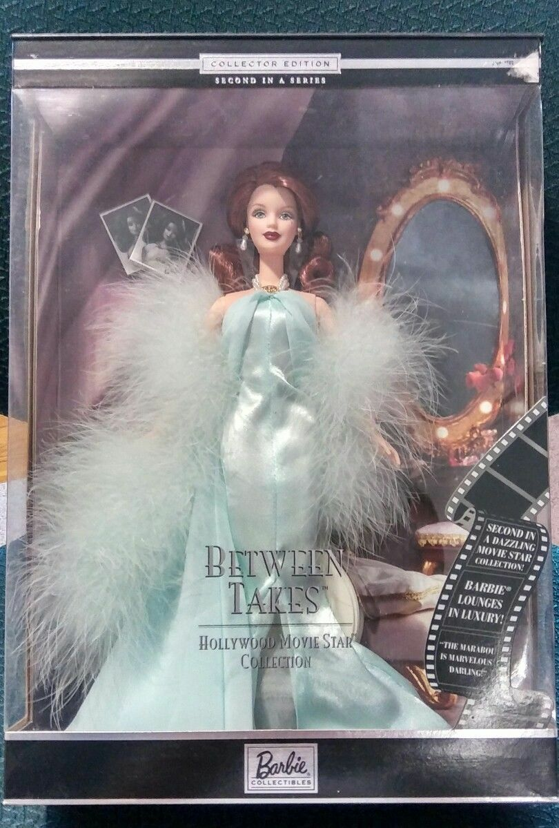 @ - Barbie  Movie Star  Hollywood-between takes-Collector club  muñeca  Monroe Dean