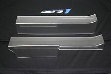 1990-1996 Corvette Door Sill Protectors (Clear w/ No Logo) C4