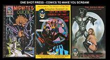 LOT OF 15 ONE SHOT PRESS HORROR VAMPIRE WEREWOLF PHILISTINE COMIC BOOKS (NEW)