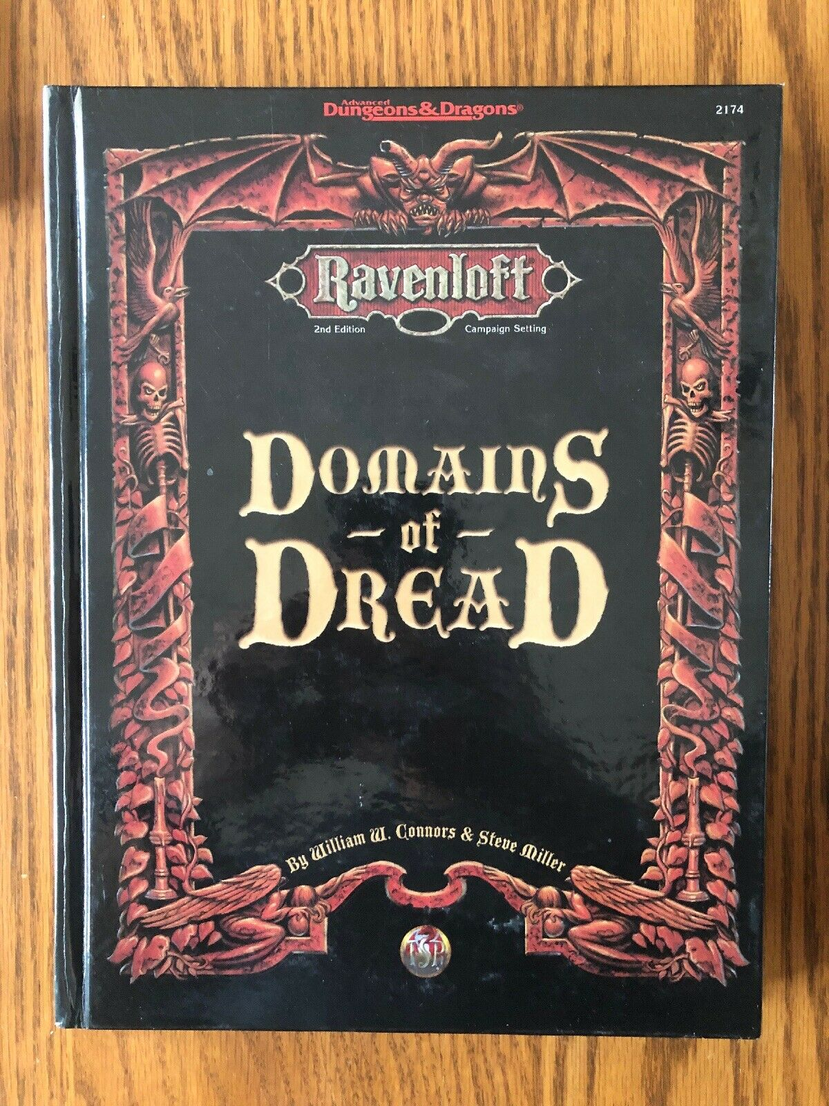 NM  DOMAINS OF DREAD Campaign Setting Dungeons & Dragons Ravenloft 1997  2174
