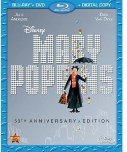 Mary-Poppins-50th-Anniversary-New-Blu-ray-With-DVD-Anniversary-Edition-D