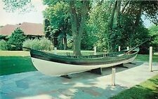 Suffolk County Whaling Museum Sag Harbor New York whaleboat Concordia Postcard