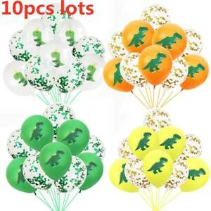 10pc-12-034-Dinosaur-Latex-Confetti-Balloons-Party-Birthday-Party-Balloons-Decor
