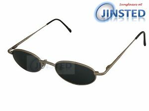 700172d614d Image is loading High-Quality-Sunglasses-Silver-Frame-Black-Dark-Tinted-