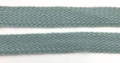 Color  BTY  Fo102 Dark Blue /& White Beautiful Knitted Flat Braid Trim