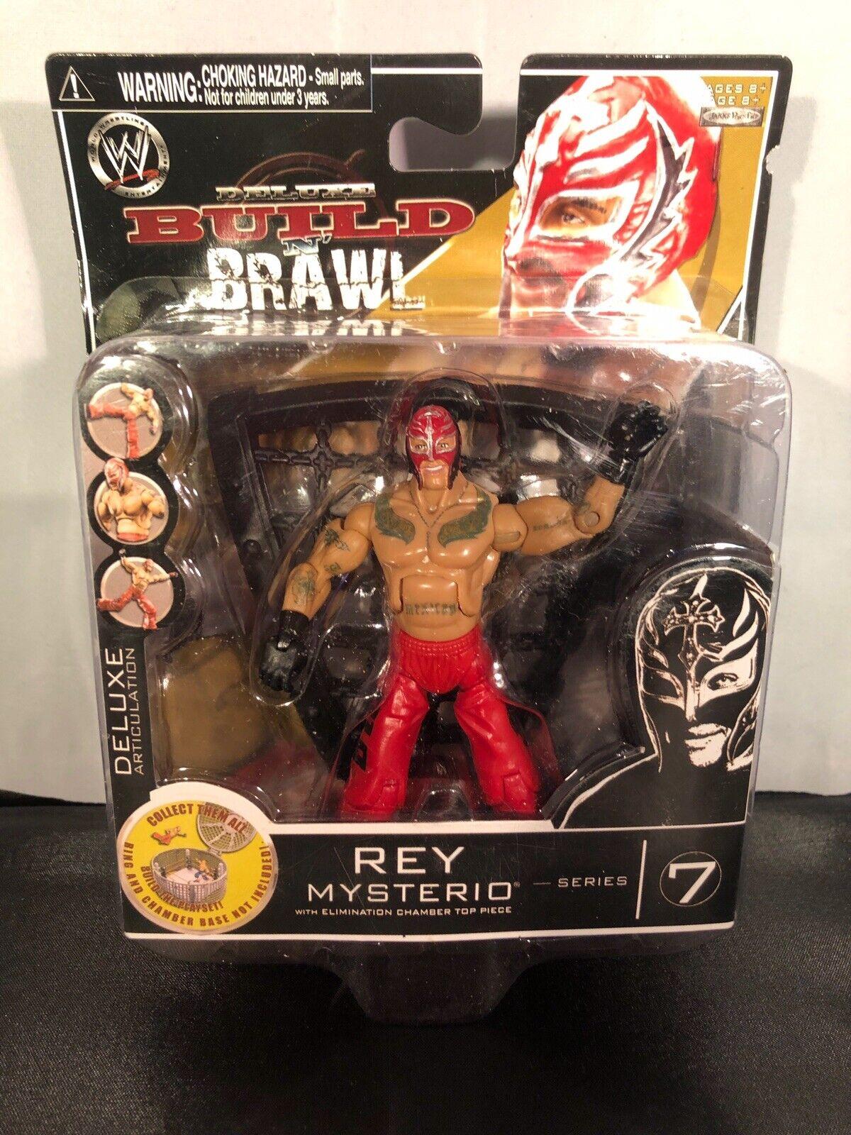 NUOVO WWE costruire N Rissa statuina Rey Mysterio SERIE 7