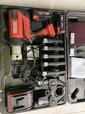 Ridgid Rp 350 Battery Press Tool Kit With Six Propress Jaws 12 2
