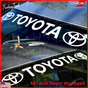 Toyota-Windshield-Banner-Sticker-Decal-Vinyl-Luxury-Lexus-Window-Graphic-custom