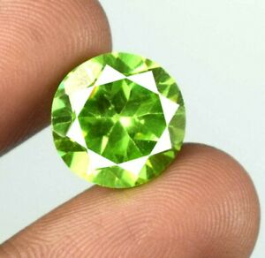 14.65 Ct Natural Round Diamond Cut Pakistan Peridot Gemstone Certified A40738