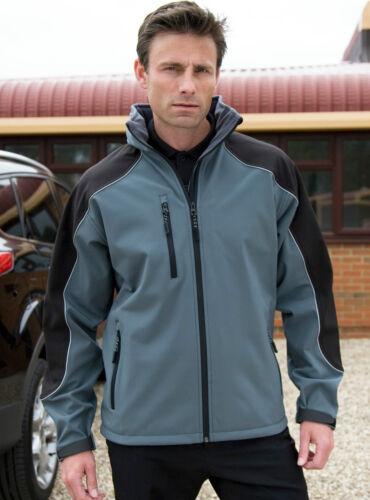 Result señores ice fell Softshell chaqueta varios colores S M L XL XXL 3xl nuevo