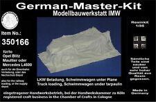 350166,Ladegut, 1:35, LKW Beladung(Schwimmwagen) unter Plane, Resin, GMKT World