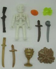 PLAYMOBIL GEOBRA skeleton with arms Action figure toy Collectible A74E