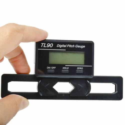 Digital Pitch Gauge RC Logger Propellers Tester With LCD Display Blade Align RC