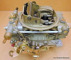 Holley-0-80452-Model-4160-Street-Legal-Carb-600cfm-Elec-Choke-Ext-Adj-Floats
