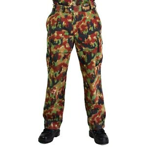 Original-Swiss-army-pants-M83-combat-Alpenflage-Camo-field-trousers-NEW