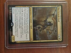 Mtg-card-The-Scarab-God-hour-of-devastation-Mint-condition