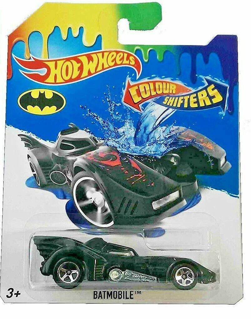 2019 Hot Wheels Batmobile Color Shifters Batman Diecast Color Changing VHTF
