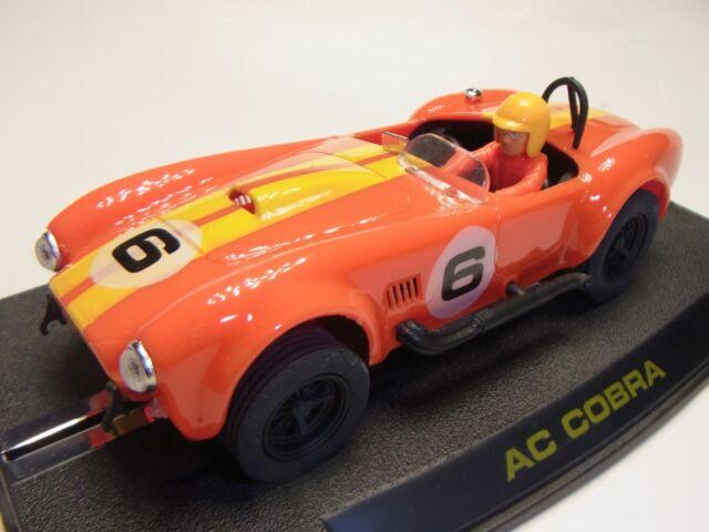 """REPROTEC 1//32 SLOT CAR RT//1962 SHELBY FACTORY SC 1964 BLUE /"""" AC COBRA/"""""""