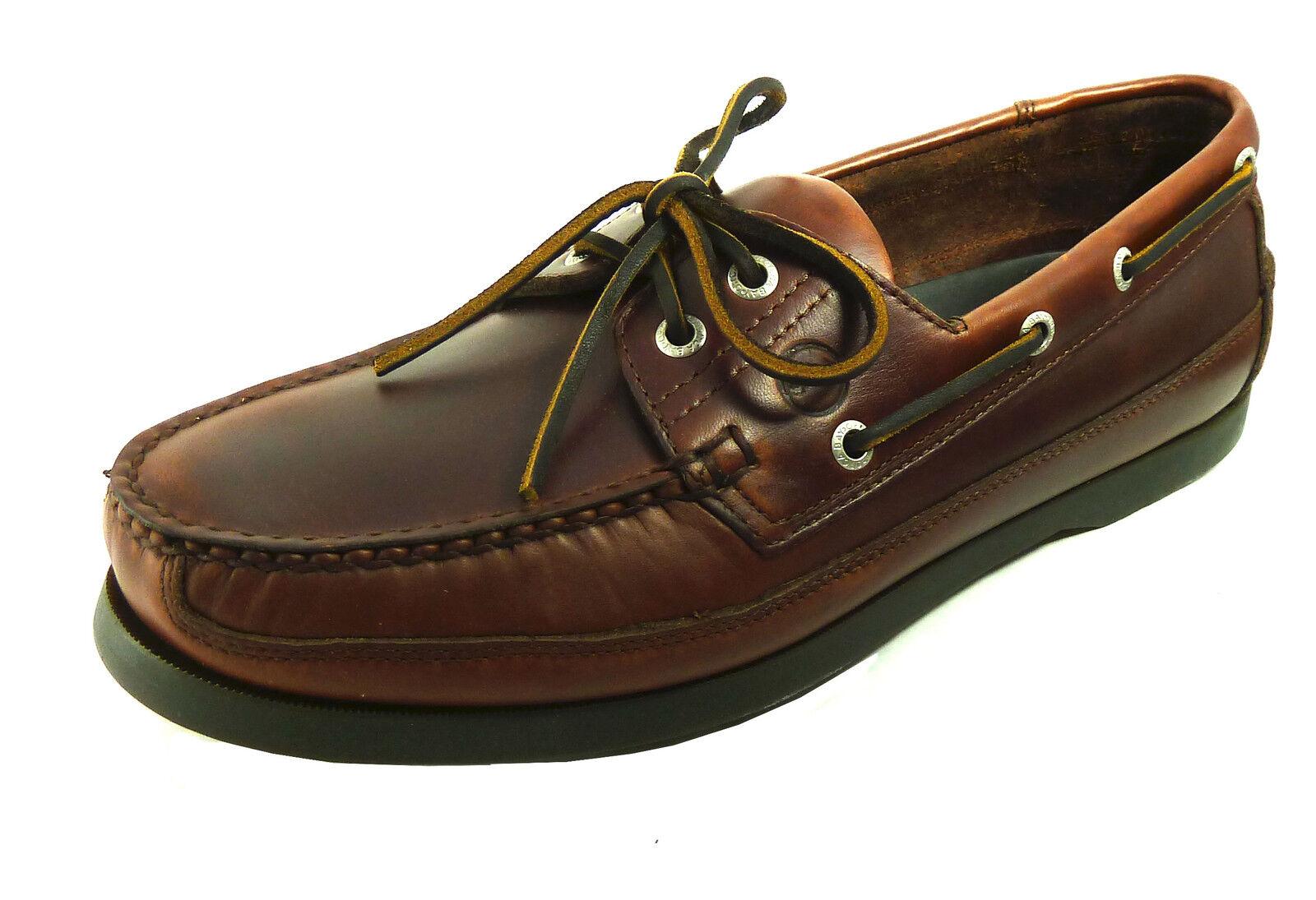 Orca Bay Augusta Men's Deck Shoe - Handstitched 100% Leather Shoes