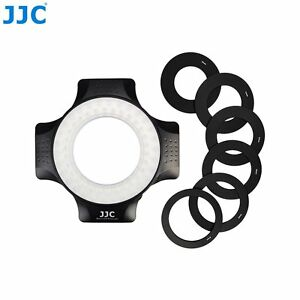 New-JJC-LED-60-60pcs-Macro-Ring-LED-Light-for-universal-DSLR-Camera-with-Adapter