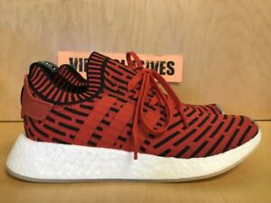 0d03c200328fe Image is loading Adidas-NMD-R2-PK-Primeknit-Core-Red-BB2910-