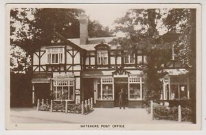 Lancashire-postcard-Gateacre-Post-Office-P-U-1924-A87